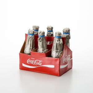 Kimiyo Mishima 三島 喜美代, 'Coca Cola Carton 20-1', 2020