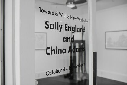 Towers & Walls: New Works by Sally England and China Adams