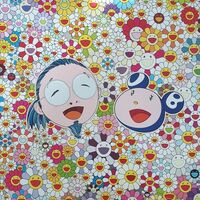 Takashi Murakami, 'Me and Mr. DOB', 2009