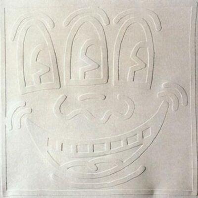 Keith Haring, 'White Icons - Three Eyed Man', 1990