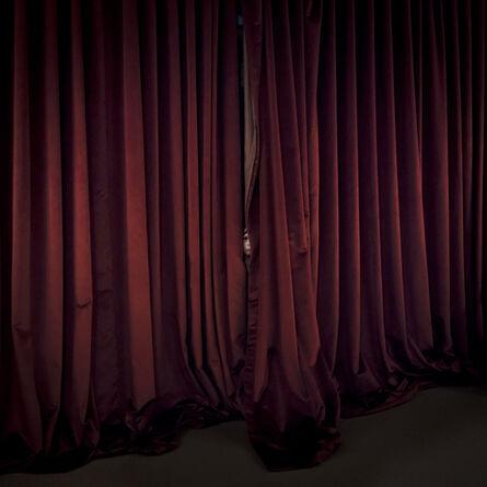 Cig Harvey, 'Red Curtains, Location, Maine', 2017