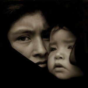 Jack Spencer, 'Refujio & Juanita, Santa Brigada, Mexico', 2003