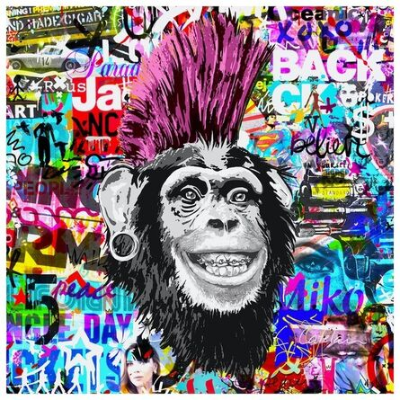 Christophe Catelain, 'Crazy Pink Monkey', 2019