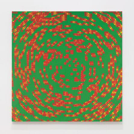 François Morellet, '20% de carrés superposés', 1970