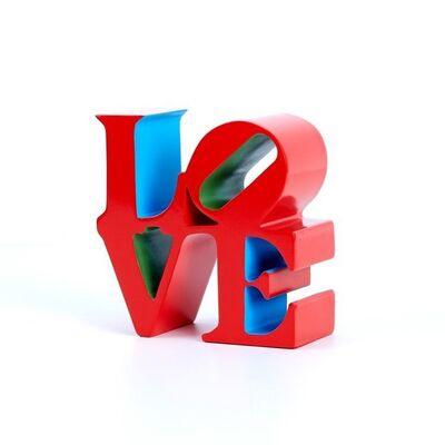Robert Indiana, 'Love ( Red Blue Green)', 2018