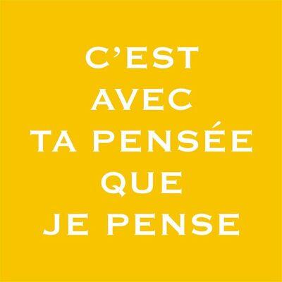 """Pep Agut, '""""C' est avec ta pensée que je pense""""', 2003-2005"""