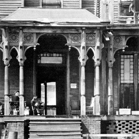 Walker Evans, 'Boarding House Porch, Birmingham, Alabama'