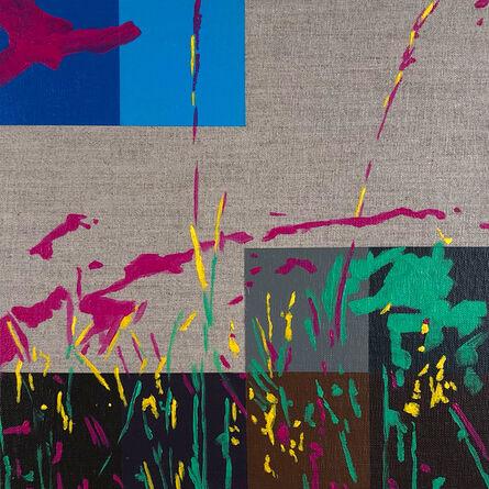Anthony Vega, 'After E Murphy (grass 1, tristan_shiels)', 2018