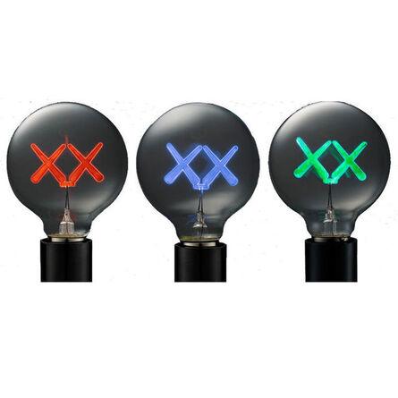 KAWS, ' XX LIGHTBULB FOR THE STANDARD HOTEL ', 2011