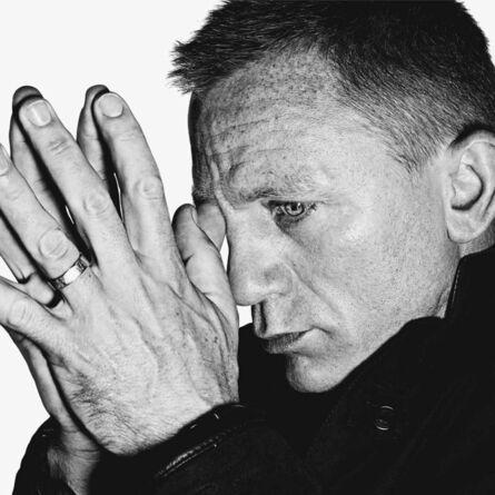 Rankin, 'Daniel Craig Contemplating', 2012