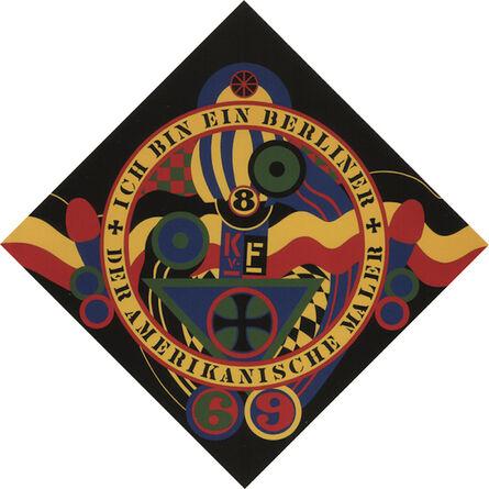 Robert Indiana, 'The Hartley Elegies KvF IX', 1991