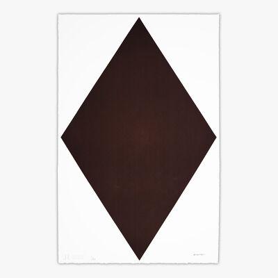 Olivier Mosset, 'DIAMOND BROWN #2781016', 2020
