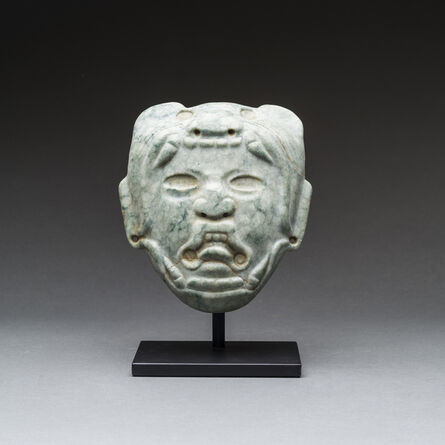 Unknown Pre-Columbian, 'Olmec Mask', 900 BC to 500 BC
