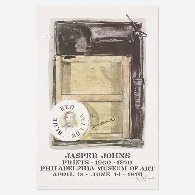 Jasper Johns, 'Souvenir exhibition poster', 1970
