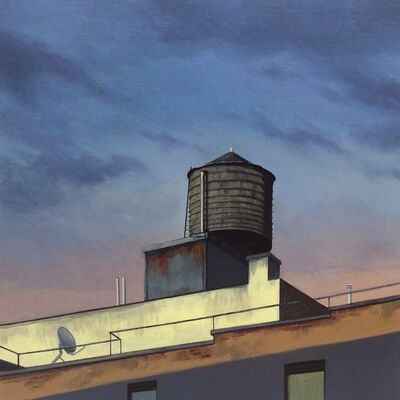 Christopher Burk, ' Water Tower 3'