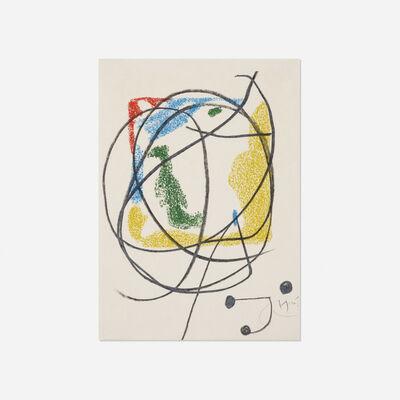 Joan Miró, 'Les Essencies de la Terra (one plate)', 1968