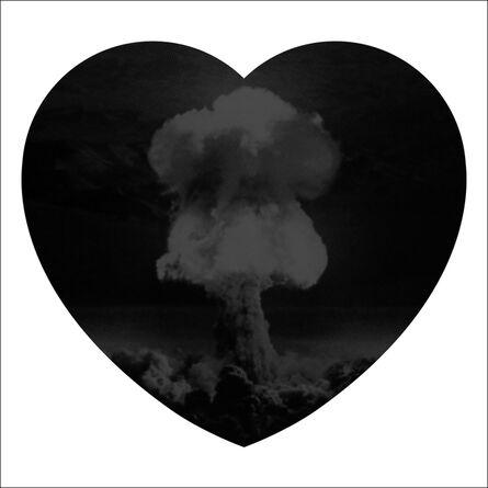 Iain Cadby, 'Love Bomb (Black) DELUXE EDITION', 2019