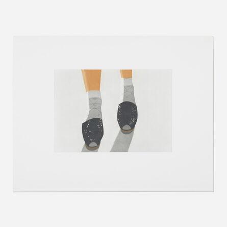 Alex Katz, 'Black Shoes', 1988