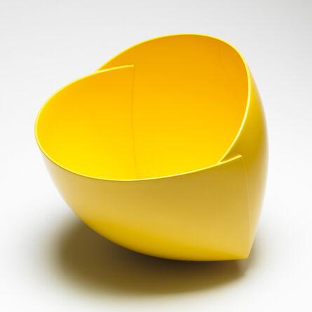 Ann Van Hoey, 'Yellow Origami Vessel', 2015