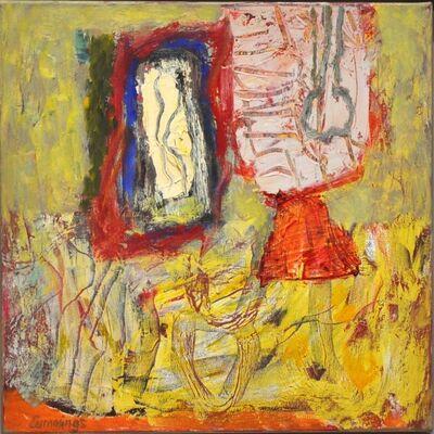 Elisabeth Cummings, 'Still-life on Yellow', 2012