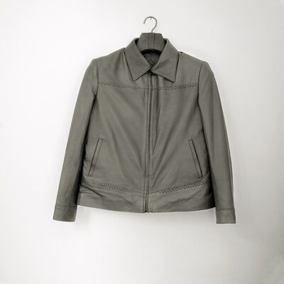 Milagros de la Torre, 'Bulletproof (Lady's leather jacket)', 2008