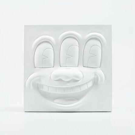 Keith Haring, '3 Eyed Smiling Face', 2020