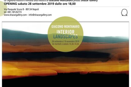 Giacomo Montanaro - Interior Landscapes