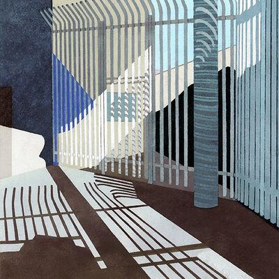 Elizabeth Ferrill, 'Border Series #8', 2014