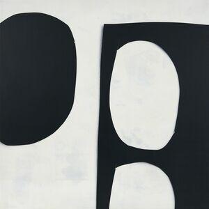 Ramsey Dau, 'Untitled (Black on White Collage 1)', 2015