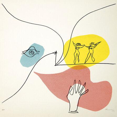 Oscar Niemeyer, 'untitled (Mancha Rosa) - Edition 100', 1988/1989
