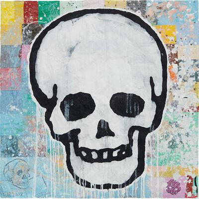 Donald Baechler, 'Skull', 2008