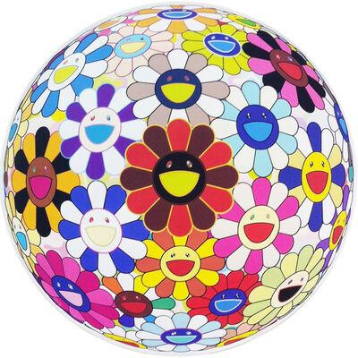 Takashi Murakami, 'FLOWERBALL (LOTS OF COLORS)', 2013