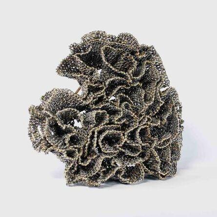 Lola Brooks, 'ruffledheart (brooch)', 2012