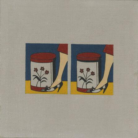 Richard Pettibone, 'Roy Lichtenstein, Step on can with leg, 1961', 1967