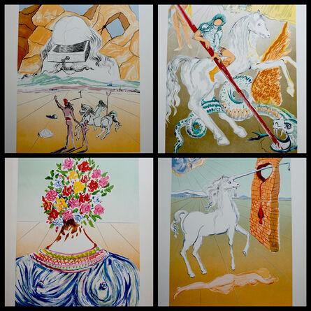 Salvador Dalí, 'Retrospective Complete Suite With Original Portfolio Covers', 1978
