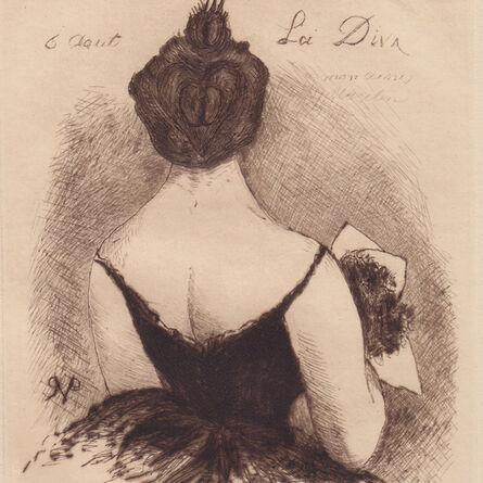 "Dr. Paul-Ferdinand Gachet [Paul Van Ryssel], '""La Diva""', 1888"