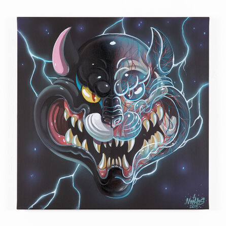NYCHOS, ' PANTHER HEAD', 2015
