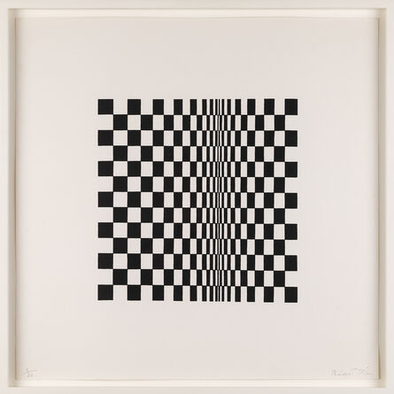 Bridget Riley, 'Untitled (Based on Movement in Squares)', 1962