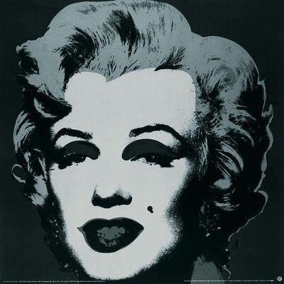 Andy Warhol, 'Marilyn Black #24', 1989