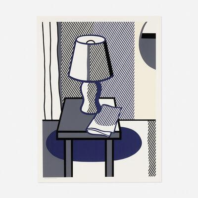 Roy Lichtenstein, 'Still Life with Table Lamp', 1988