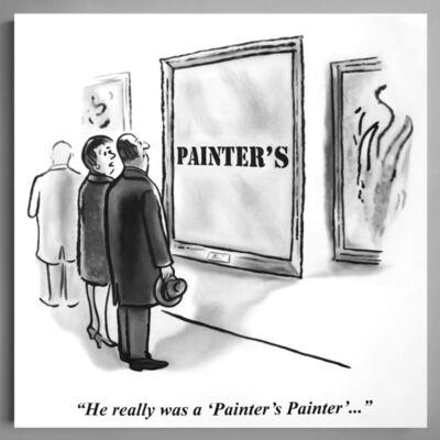 Charles Lutz, 'Painter's Painter', ca. 2017