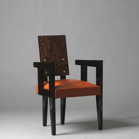 André Sornay, 'Four « bridge » armchairs', ca. 1936
