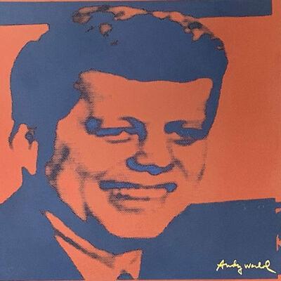Andy Warhol, 'John F. Kennedy', 1986