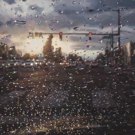 Dianne L. Massey Dunbar, 'Rain on Windshield, Morning Commute', 2018