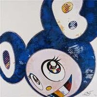 Takashi Murakami, 'And Then x 727 (Ultramarine : Gunjo)', 2003