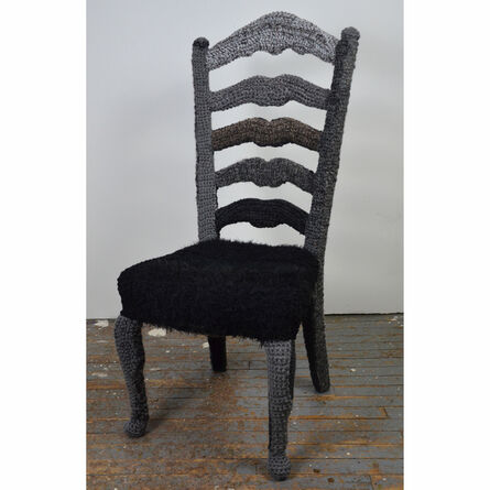 Melissa Maddonni Haims, 'Yarnbombed Chair', ca. 2014