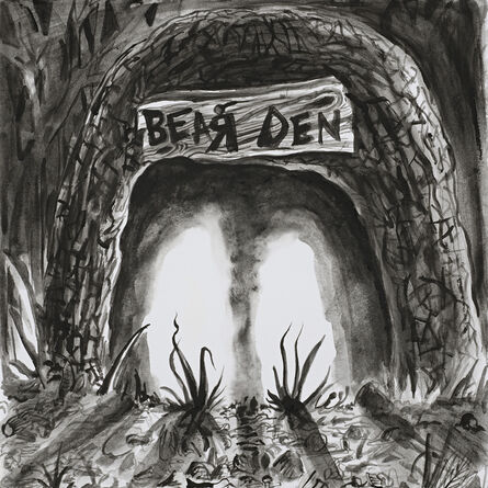 Trenton Doyle Hancock, 'The Bear Den', 2012