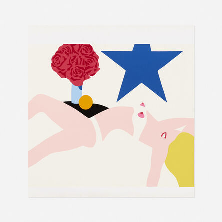 Tom Wesselmann, 'Great American Nude for Banner', 1968