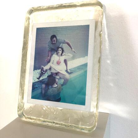Carmen de Vos, 'Snorkelman - Unique piece - Original Polaroid, Women, Contemporary, Figurative', 2011