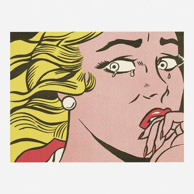 Roy Lichtenstein, 'Crying Girl (Castelli mailer)', 1963